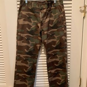 Men's RVCA Camouflage Pants SIZE 31x32